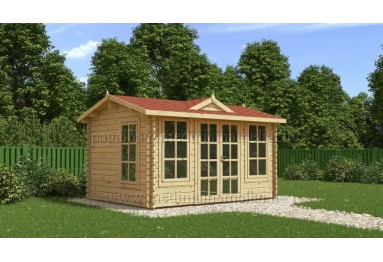 Sodo namelis CLOCKHOUSE 4x3m (12m²), 44mm