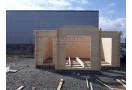 NAUJIENA! Medinis namelis DUBLIN  5,7 x 4 m, 24 kv.m + DOVANA