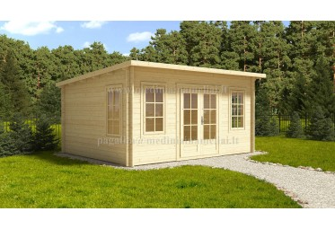 Sodo namelis TORINO plus 5x4m (20m²), 44mm